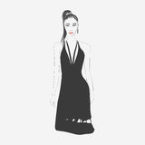 Иллюстрация способа женщины Стоковое Изображение