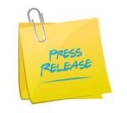 иллюстрация столба памятки официального сообщения для печати иллюстрация штока