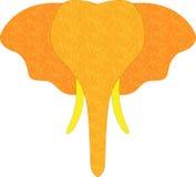 Иллюстрация слона головная Стоковое фото RF