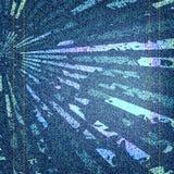 Иллюстрация текстуры голубых джинсов вектора Стоковое Изображение