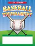 Иллюстрация турнира бейсбола Стоковые Изображения