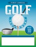 Иллюстрация турнира гольфа Стоковое Изображение RF