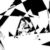 Иллюстрация хаотического, грязного конспекта состава геометрическая shat иллюстрация штока