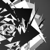 Иллюстрация хаотического, грязного конспекта состава геометрическая shat бесплатная иллюстрация