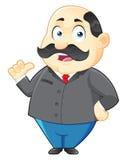 Иллюстрация характера босса Стоковое Изображение RF
