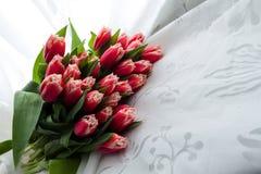 иллюстрация цвета букета имитирует воду вектора тюльпанов Стоковая Фотография
