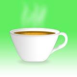 Иллюстрация чашка горячего чая Стоковые Изображения