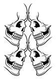 Иллюстрация черепа Стоковое Изображение