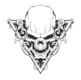 Иллюстрация черепа Стоковая Фотография