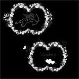 Иллюстрация шаблона для wedding Стоковое Фото
