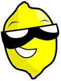Иллюстрация шаржа изолированная лимоном Стоковое Фото