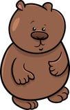 Иллюстрация шаржа медвежонка Стоковое Изображение RF