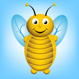 иллюстрация шаржа пчелы Стоковая Фотография RF