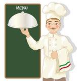 Иллюстрация шеф-повара Стоковое Изображение RF