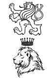 Иллюстрация льва Стоковое Изображение
