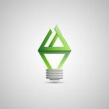 Иллюстрация электрической лампочки Стоковая Фотография RF