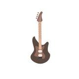 Иллюстрация электрической гитары Стоковое Фото