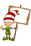 иллюстрация эльфа персонажа из мультфильма милая Стоковые Изображения