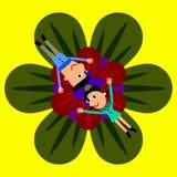 Кровать цветка Стоковая Фотография