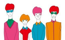 Иллюстрация людей Стоковые Фото