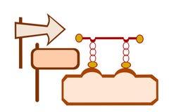 Иллюстрация ярлыка Стоковое Изображение RF