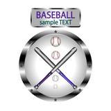 Иллюстрация для бейсбола Стоковые Изображения