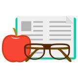 Иллюстрация для школы Стоковые Изображения RF