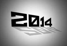 иллюстрация 2014 Стоковые Фото
