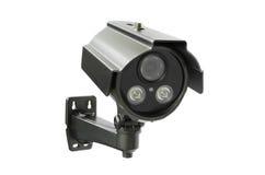 иллюстрация cctv камеры предпосылки высокая изолировала белизну качества Стоковые Фотографии RF