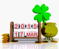 День St. Patrick - 3D Стоковые Фотографии RF
