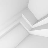 иллюстрация 3d современного дизайна интерьера Минимальная архитектура Стоковое фото RF