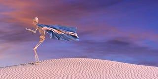 иллюстрация 3d флага иллюстрация вектора