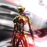 иллюстрация 3D Fembot Стоковая Фотография RF