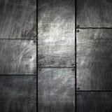 Иллюстрация 3d Grunge металлопластинчатая Стоковое Изображение RF