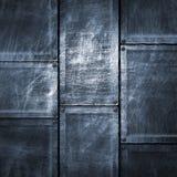 Иллюстрация 3d Grunge металлопластинчатая Стоковая Фотография RF