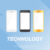 Иллюстрация EPS 10 дизайна Smartphone передвижная иллюстрация вектора