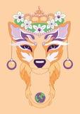 Иллюстрация Fox Стоковые Фото