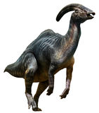 Иллюстрация Parasaurolophus 3D иллюстрация вектора