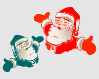 иллюстрация santa claus Стоковые Изображения RF
