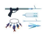 Иллюстрация Speargun Стоковые Фотографии RF