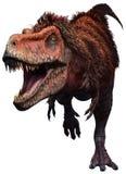 Иллюстрация Tarbosaurus 3D иллюстрация вектора