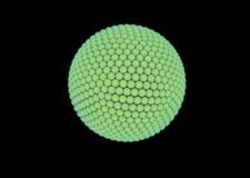 Иллюстрация Vegetal клетки Стоковые Изображения RF
