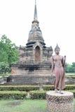 Идя изображение Будды Стоковая Фотография RF