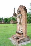 Идя изображение Будды Стоковые Фото