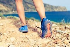 Идя или бежать подошва ботинка спорт Стоковая Фотография RF