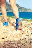 Идя или бежать подошва ботинка спорт Стоковое Фото