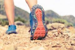 Идя или бежать подошва ботинка спорт Стоковые Фотографии RF