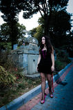 Идя портрет вампира Стоковая Фотография RF