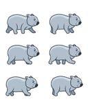 Идя спрайт игры Wombat Стоковые Фотографии RF