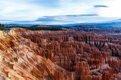 ` И hoodoos амфитеатра ` в каньоне Bryce, Юте стоковое изображение